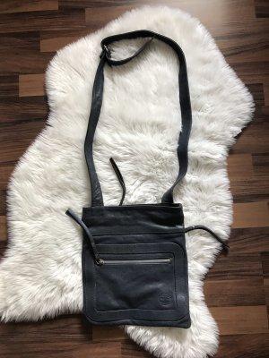Timberland Tasche blau Leder