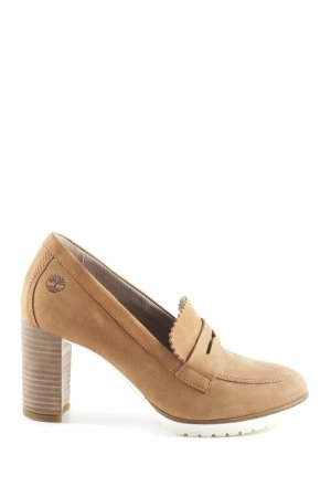 Timberland Loafers nude zakelijke stijl