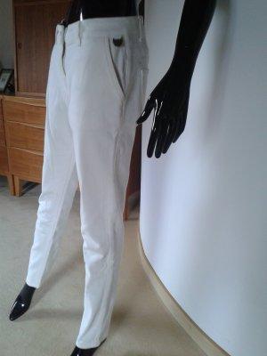 Timberland weiße Hose, feste Baumwolle mit Elasthan,NEU, Gr. 36-38