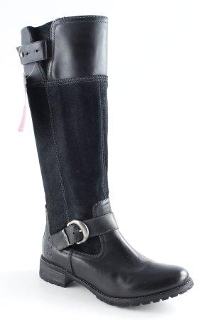 Timberland Weitschaftstiefel schwarz Casual-Look