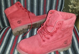 Timberland Wildleder Boots Rot