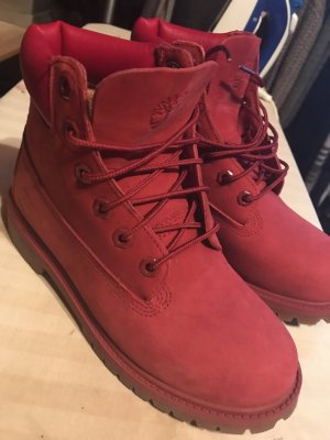 Timberland Winterschuh in Rot