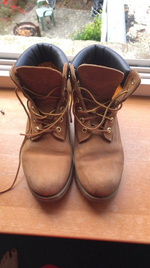 Timberland Snow Boots camel leather