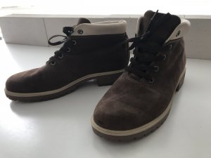 Timberland Snow Boots brown-oatmeal leather