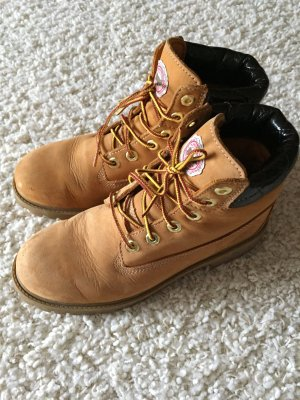 Timberland Boots cognac-coloured