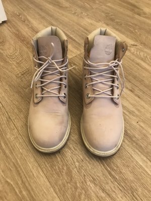 Timberland Cothurne or rose-blanc