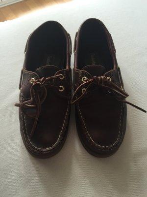 Timberlands Leder Bootsschuhe 37