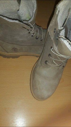 Timberlands Schuhe für den Winter mit Wollfutter