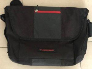 Timbuk2 Funda para portátil negro-rojo