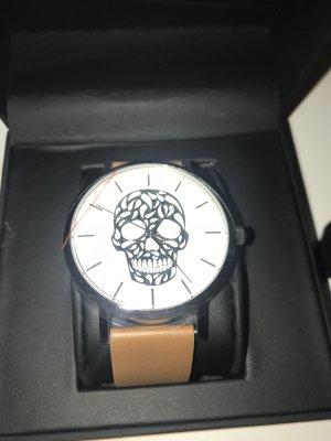 Time Label Uhr