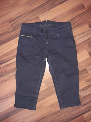 Timezone 3/4 Length Trousers dark blue