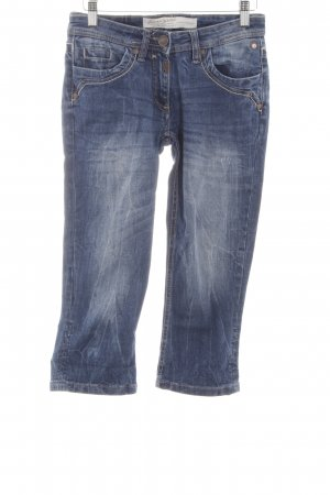 Timezone 3/4 Jeans blau Casual-Look