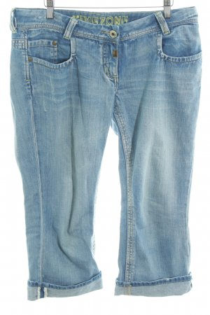 Timezone 3/4 Length Jeans blue casual look