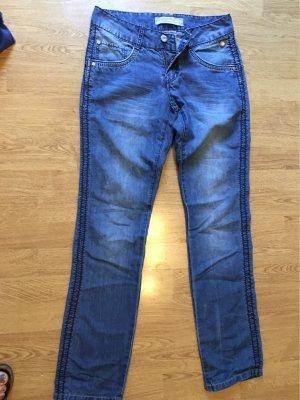 Timezone Pantalone boyfriend blu scuro