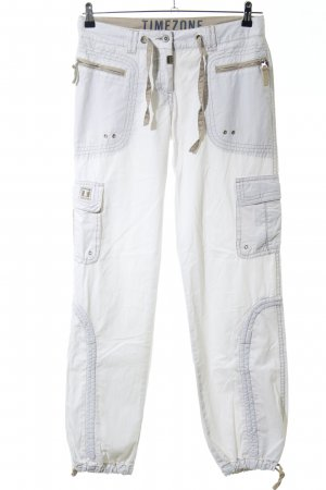 Timezone Cargo Pants white casual look