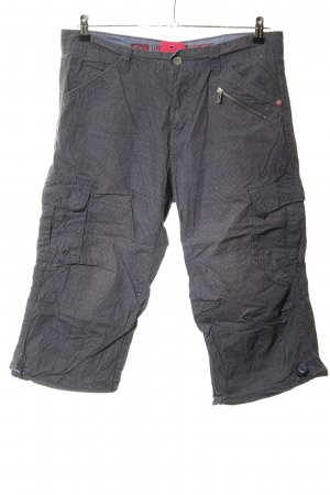 Timezone Cargo Pants light grey allover print casual look