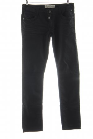Timezone Five-Pocket-Hose schwarz Casual-Look