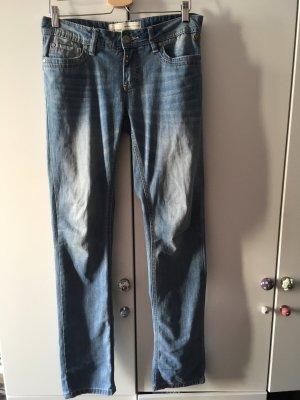 Timezone Pantalone cinque tasche azzurro-grigio ardesia