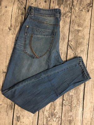 Timezone Boyfriend jeans staalblauw