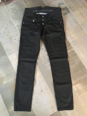 Timezone Jeans taille basse noir