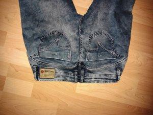 Timezone Low Rise Jeans cornflower blue cotton
