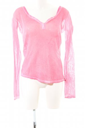 Timezone Longsleeve pink Casual-Look