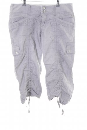 Timezone Shorts hellgrau Karomuster Casual-Look
