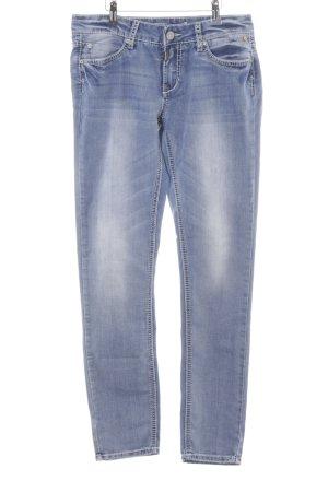 Timezone Slim Jeans hellblau Casual-Look
