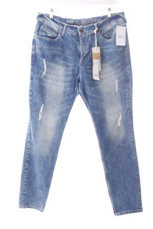"Timezone Slim Jeans ""MajaTZ"" blau"