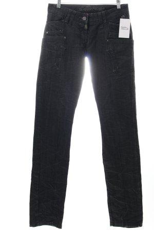 """Timezone Slim Jeans """"Murray"""" schwarz"""