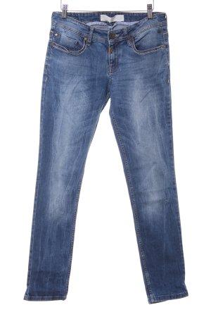 Timezone Slim Jeans stahlblau Casual-Look