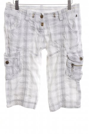 Timezone Stoffhose Karomuster Casual-Look