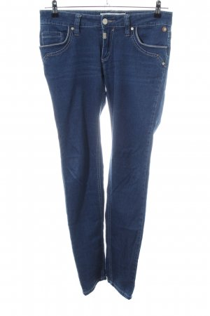 Timezone Stretch jeans blauw casual uitstraling