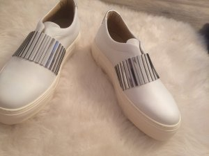 TINES sneaker weiß metallic Style Plateau