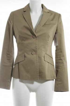 Tintoretto Long Blazer camel business style