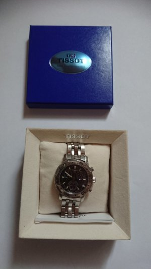 Tissot Horloge zwart-donkerblauw