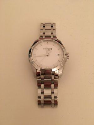 Tissot Uhr / klassisch / silber / weiß
