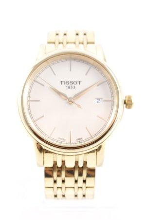 Tissot Uhr mit Metallband goldfarben Elegant