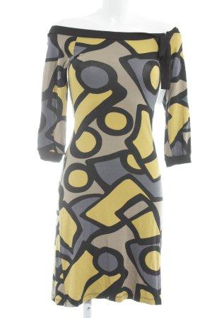 Tita Jerseykleid grafisches Muster schlichter Stil