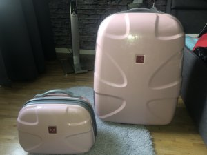 Suitcase multicolored