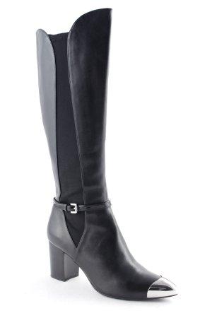 Tizian Laarzen met hoge hakken zwart elegant