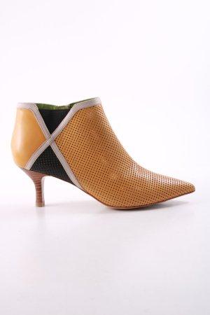 Tizian Chaussure à talons carrés multicolore style d'affaires