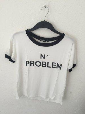 Tk Maxx cropped Shirt mit Print
