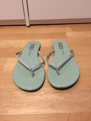 Tkees Flip Flops in mintgrün