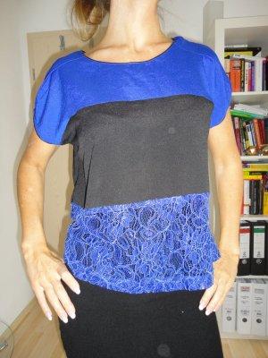 TKMaxx Shirt dreifarbig mit Spitze