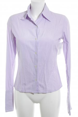 TM Lewin Hemd-Bluse blasslila Business-Look