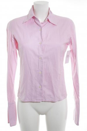 TM Lewin Hemd-Bluse rosa Business-Look