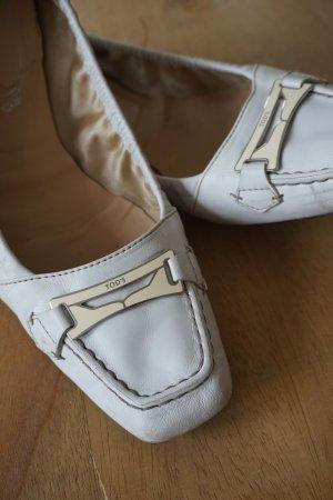 TOD'S Ballerina, Gr. 40, weiß