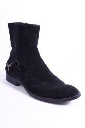 Tod's Boots schwarz Street-Fashion-Look