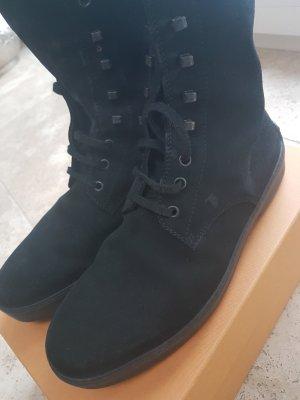 Tod´s Boots Stiefel Gr.  7 Wildleder schwarz
